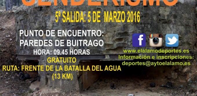 Cartel Senderismo 5 Marz