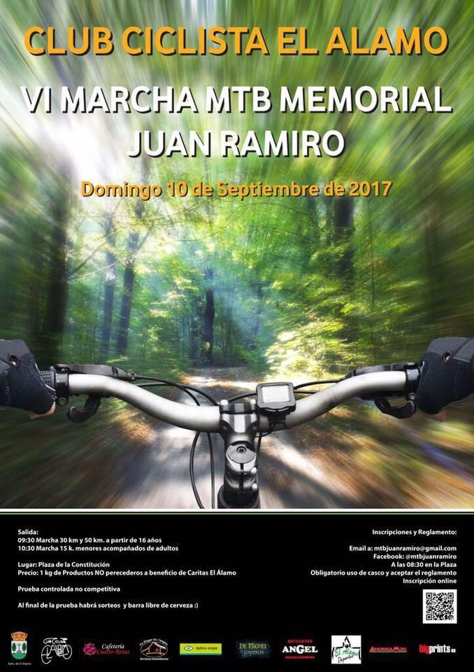 Ruta MTB memorial Juan Ramiro