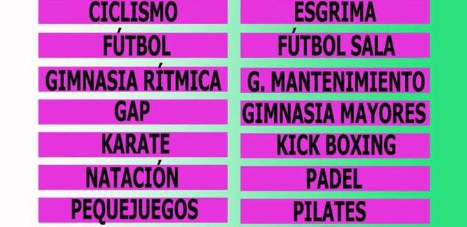Oferta temporada 2017-2018